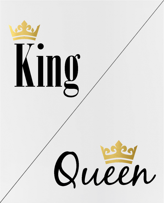 puodeliai King / Queen