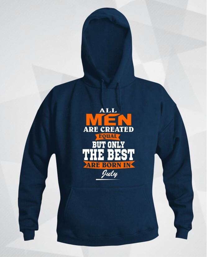 All men in July