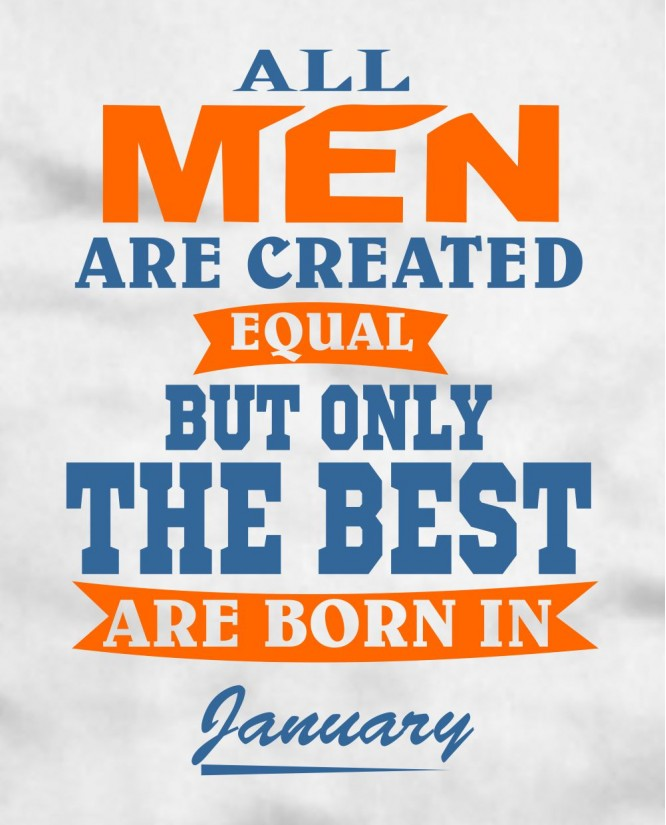 All Men January