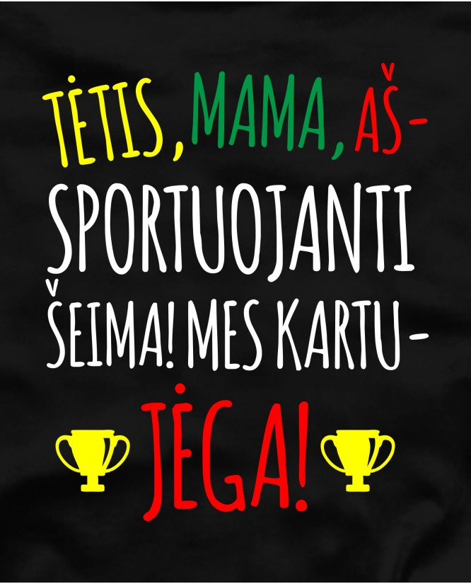Sportuojanti šeima
