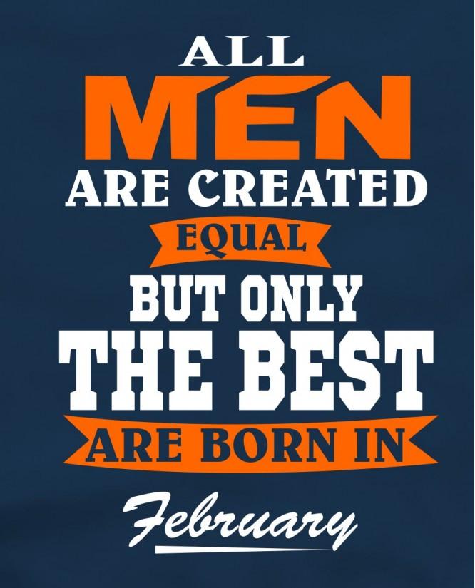 All men february