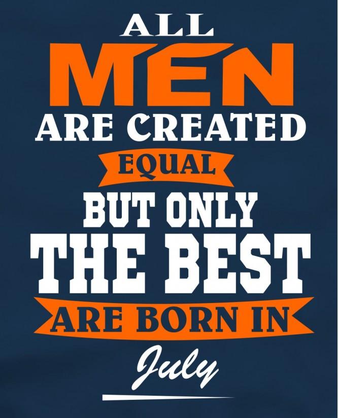 All Men July