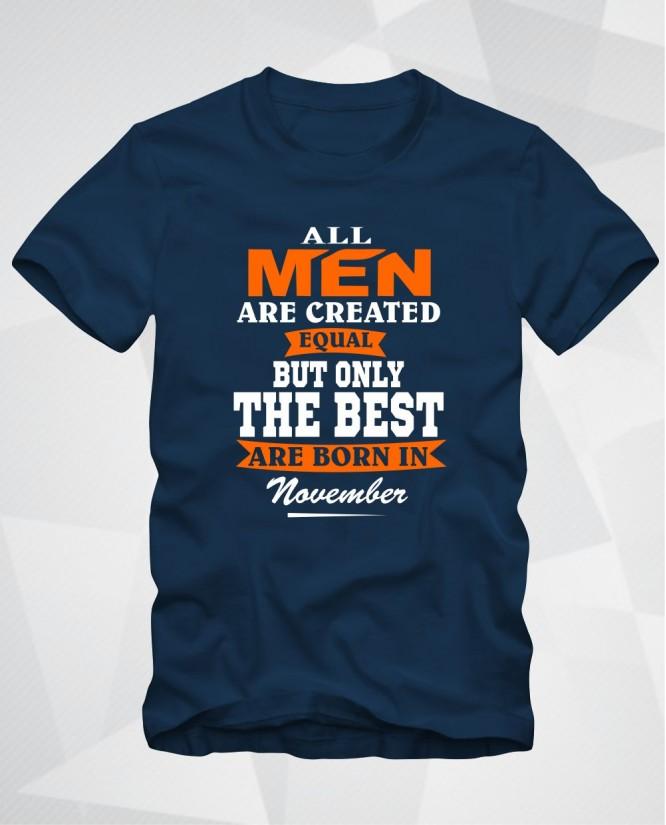 All men November