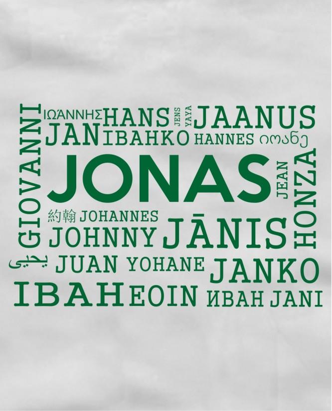 Jonas įvairiom kalbom