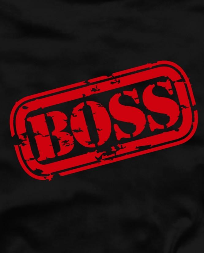 Boss red marškinėliai