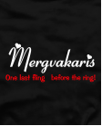 Mergvakaris before the ring