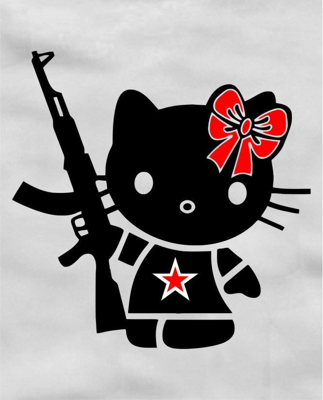 Hello kitty antibrand