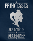 Princesses December PR