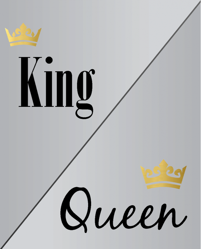 King/Queen/Crown PP