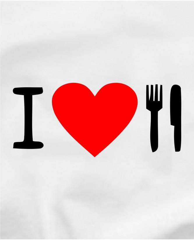 I love eat