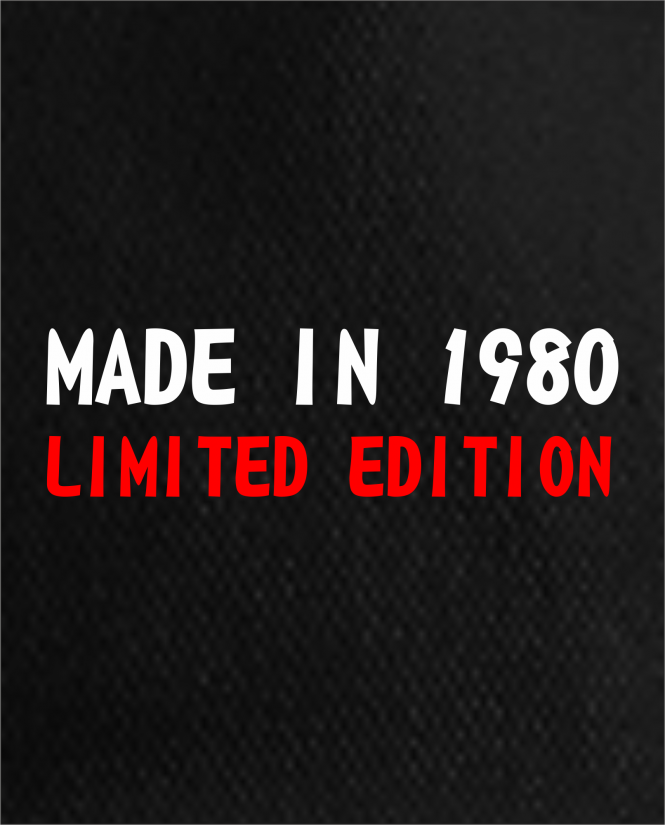 Made in limited edition