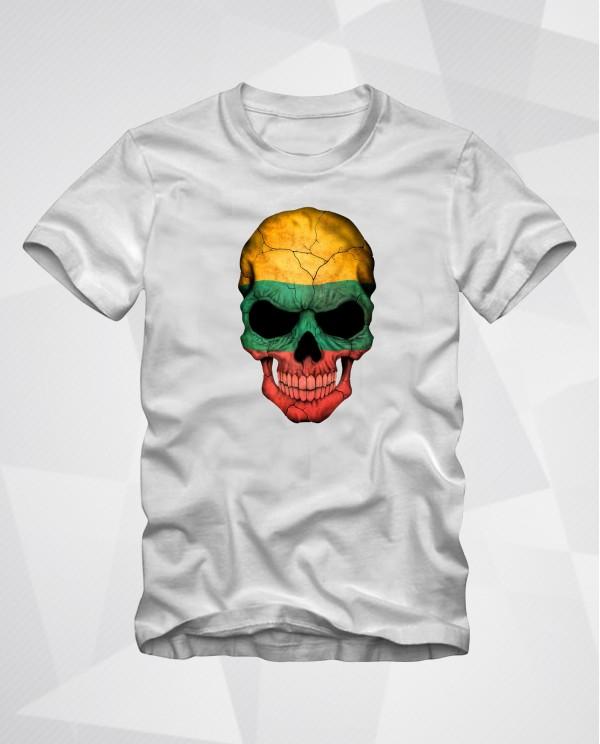 Lietuva Skull