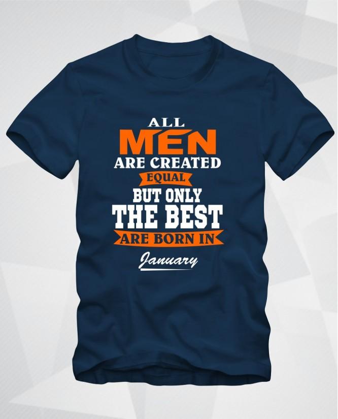 All men January
