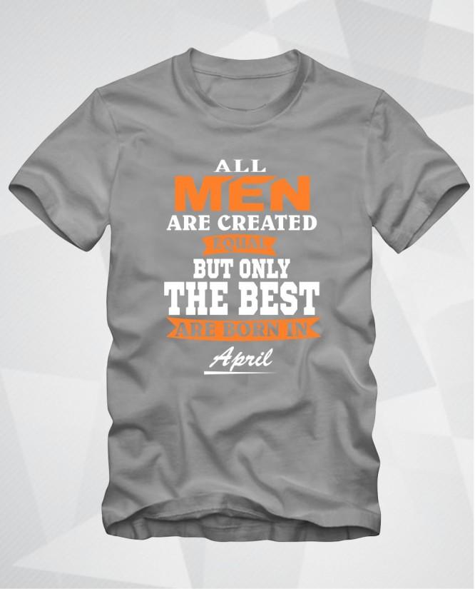 All men April