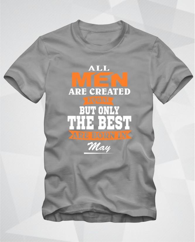 All men May