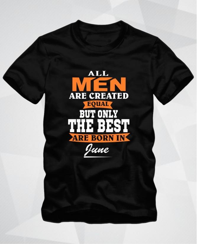 All men June
