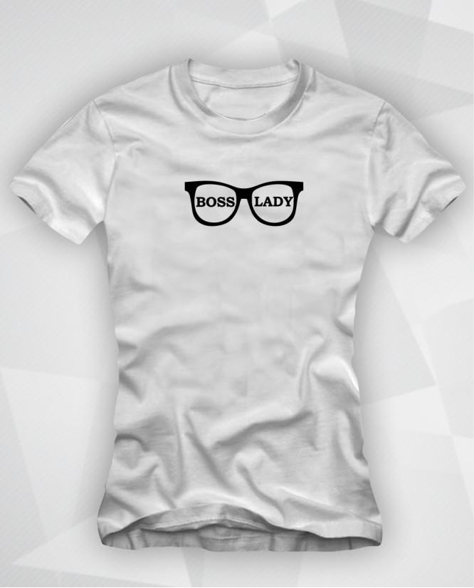 Boss lady marškinėliai