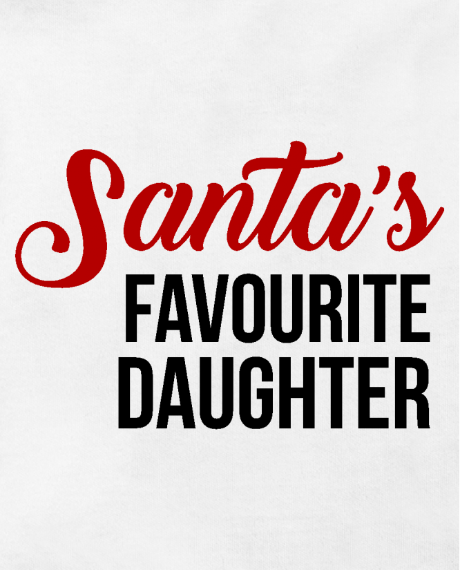 Santas favourite daughter
