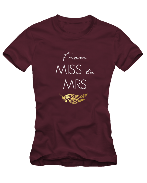 from miss to mrs