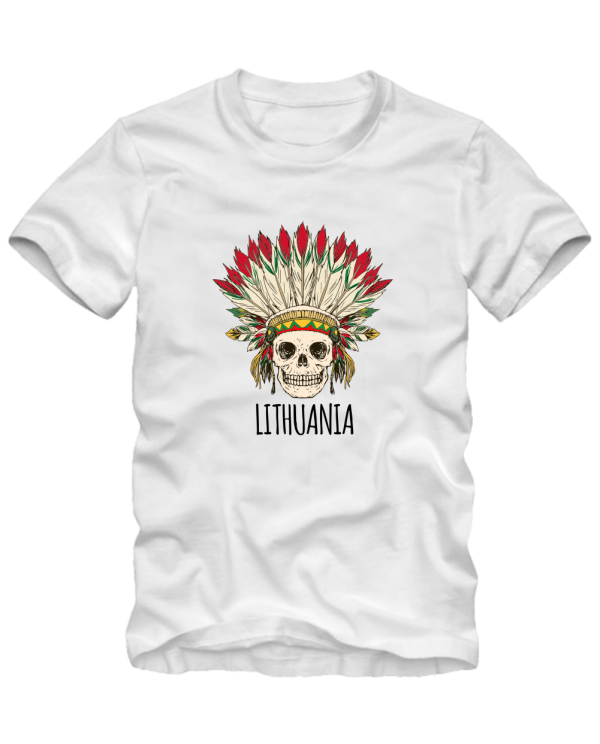 Lithuania skull