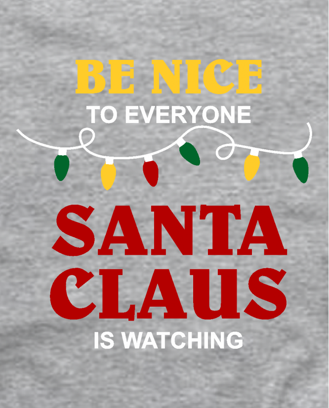 Snata claus is watching