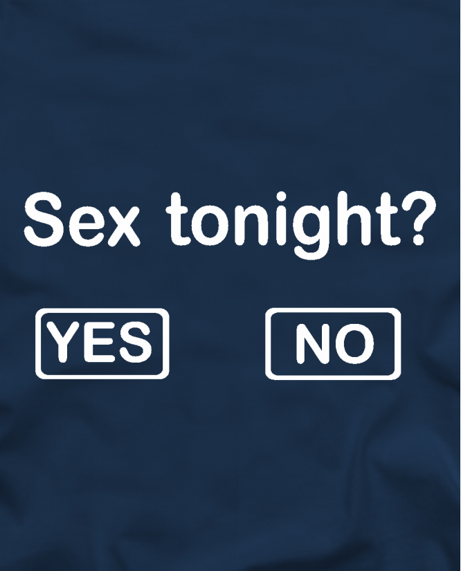 Sex tonight