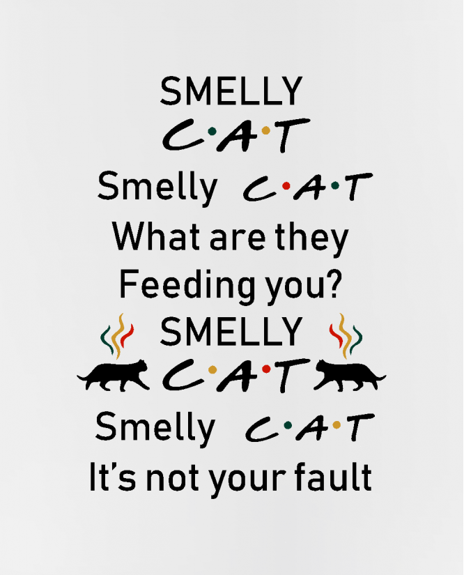 puodelis Smelly cat