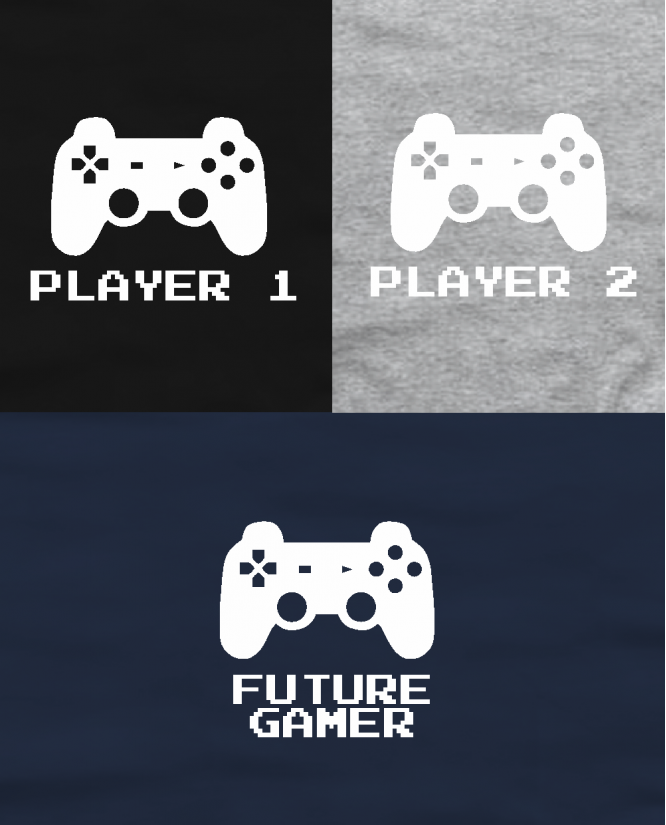 Player 1 / player 2 / future gamer