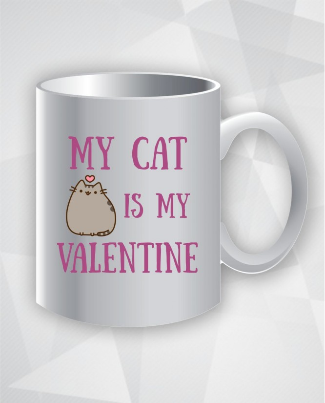 My cat is my Valentine